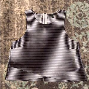Striped Top Banana Republic